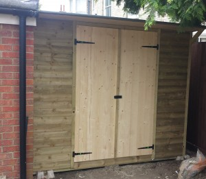 Custom Built Garden Shed
