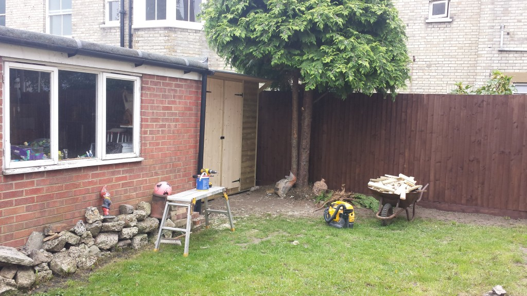Built shed